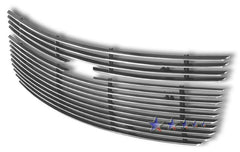 APS C65734A Aluminum Billet Grille for Chevrolet Equinox (Polished) - Main Upper