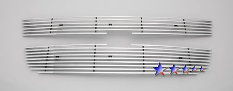 APS C65747K Aluminum Wide Grille for Chevrolet Colorado (Polished) - Main Upper