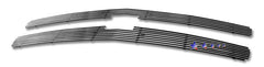 APS C65766A Aluminum Billet Grille for Chevrolet Silverado (Polished) - Main Upper