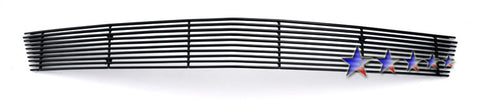 APS C65768H Black Aluminum Billet Grille for Chevrolet Corvette (Black Powder Coated) - Lower Bumper