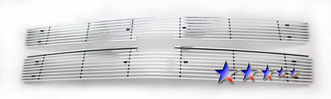 APS C65774K Aluminum Wide Grille for Chevrolet Silverado (Polished) - Main Upper