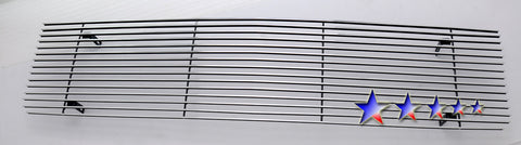 APS C85008A Aluminum Billet Grille for Chevrolet Blazer/C/K/Suburban, GMC C/K/Suburban (Polished) - Main Upper