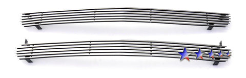 APS C85068A Aluminum Billet Grille for Chevrolet Silverado/Suburban/Tahoe (Polished) - Main Upper
