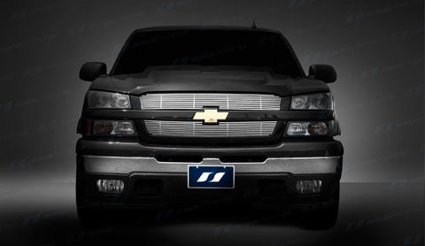 Trim Illusion CG101 Billet Grilles for Chevrolet Silverado/Avalanche (Chrome Plated SS)