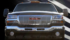 Trim Illusion CG104 Billet Grilles for GMC Sierra (Chrome Plated SS)