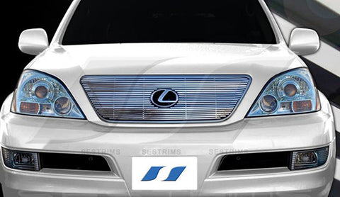 Trim Illusion CG111 Billet Grilles for Lexus GX470 (Chrome Plated SS)