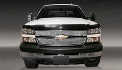 Trim Illusion CG112 Billet Grilles for Chevrolet Silverado (Chrome Plated SS)