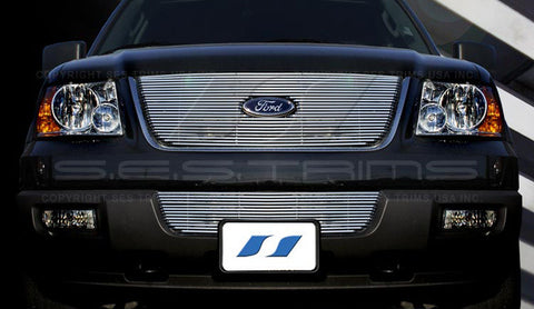 Trim Illusion CG116 Billet Grilles for Ford Expedition (Chrome Plated SS)