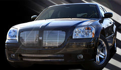 Trim Illusion CG121A/B Billet Grilles for Dodge Magnum (Chrome Plated SS)