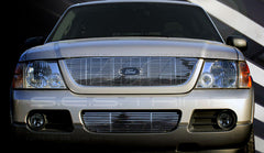 Trim Illusion CG123A/B Billet Grilles for Ford Explorer (Chrome Plated SS)