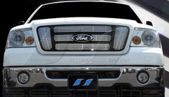 Trim Illusion CG127A Billet Grilles for Ford F-150 (Chrome Plated SS)