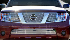 Trim Illusion CG128A Billet Grilles for Nissan Frontier (Chrome Plated SS)