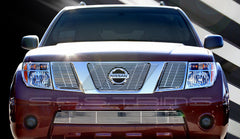 Trim Illusion CG128B Billet Grilles for Nissan Frontier (Chrome Plated SS)