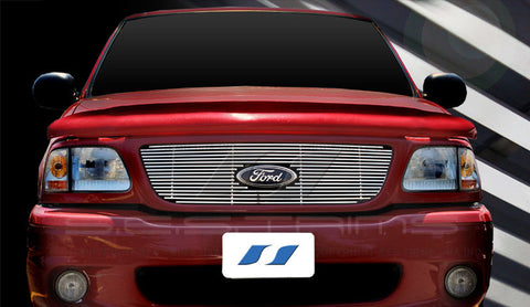 Trim Illusion CG132 Billet Grilles for Ford F-150 (Chrome Plated SS)