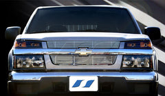 Trim Illusion CG136 Billet Grilles for Chevrolet Colorado (Chrome Plated SS)