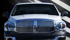 Trim Illusion CG144 Billet Grilles for Dodge Ram (Chrome Plated SS)