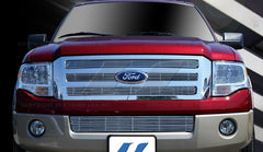 Trim Illusion CG152B Billet Grilles for Ford Expedition (Chrome Plated SS)