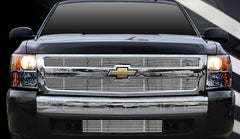 Trim Illusion CG153 Billet Grilles for Chevrolet Silverado (Chrome Plated SS)