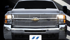 Trim Illusion CG159 Billet Grilles for Chevrolet Silverado (Chrome Plated SS)