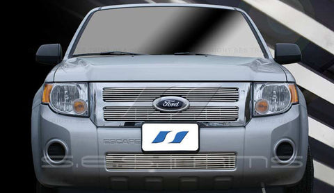 Trim Illusion CG164A/B Billet Grilles for Ford Escape (Chrome Plated SS)