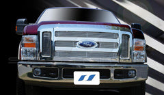 Trim Illusion CG170 Billet Grilles for Ford Super Duty (Chrome Plated SS)