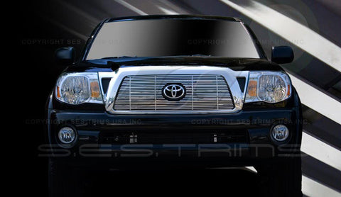 Trim Illusion CG175 Billet Grilles for Toyota Tacoma (Chrome Plated SS)