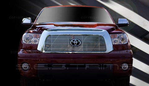 Trim Illusion CG177B Billet Grilles for Toyota Tundra (Chrome Plated SS)