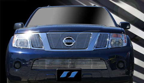 Trim Illusion CG183B Billet Grilles for Nissan Armada (Chrome Plated SS)