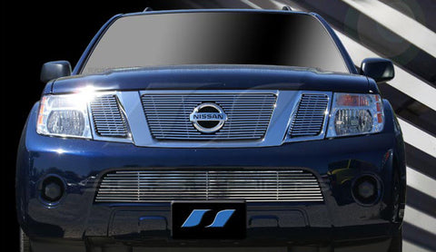 Trim Illusion CG183 Billet Grilles for Nissan Armada (Chrome Plated SS)