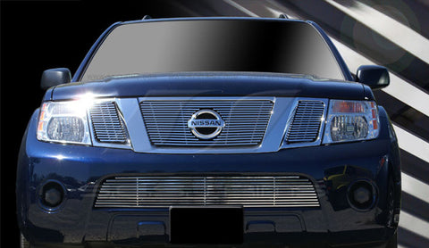 Trim Illusion CG184B Billet Grilles for Nissan Pathfinder (Chrome Plated SS)