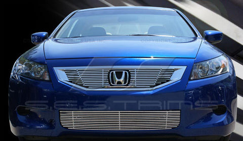 Trim Illusion CG190 Billet Grilles for Honda Accord (Chrome Plated SS)