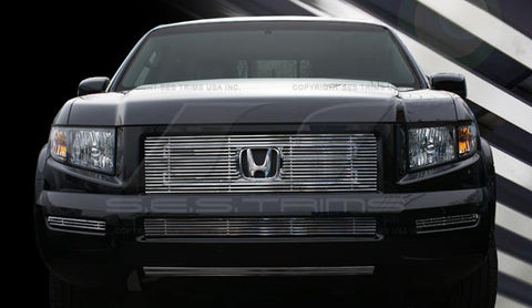 Trim Illusion CG191A/B Billet Grilles for Honda Ridgeline (Chrome Plated SS)