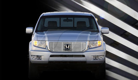 Trim Illusion CG214 Billet Grilles for Honda Ridgeline (Chrome Plated SS)