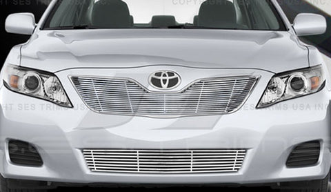 Trim Illusion CG224A/B Billet Grilles for Toyota Camry (Chrome Plated SS)