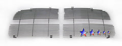 APS D85374A Aluminum Billet Grille for Dodge Ram (Polished) - Main Upper