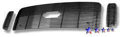 APS F65707A Aluminum Billet Grille for Ford Excursion/F-250/F-350/F-450/F-550 (Polished) - Main Upper