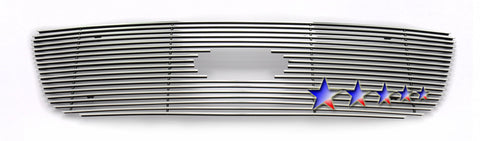 APS F65722A Aluminum Billet Grille for Ford F-150/F-150 (Polished) - Main Upper