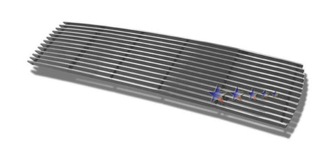 APS N65359A Aluminum Billet Grille for Nissan Pathfinder (Polished) - Main Upper