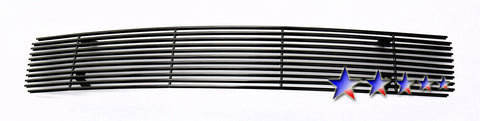 APS N66464H Black Aluminum Billet Grille for Nissan Maxima (Black Powder Coated) - Lower Bumper