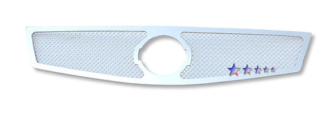 APS N76748T Mesh Grille for Nissan Sentra (Chrome) - Main Upper