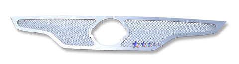 APS N76752T Mesh Grille for Nissan Altima (Chrome) - Main Upper