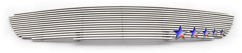 APS N85411K Aluminum Wide Grille for Nissan Altima (Polished) - Main Upper