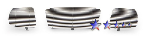 APS N85422A Aluminum Billet Grille for Nissan Armada/Titan (Polished) - Main Upper