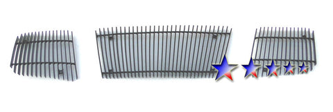 APS N85422E Black Aluminum Billet Grille for Nissan Armada/Titan (Black Powder Coated) - Main Upper