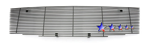 APS N85543H Black Aluminum Billet Grille for Nissan Frontier/Pathfinder (Black Powder Coated) - Main Upper