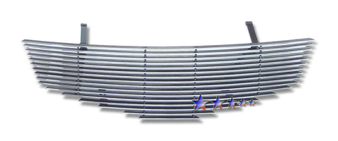 APS N86746A Aluminum Billet Grille for Nissan Sentra (Polished) - Main Upper