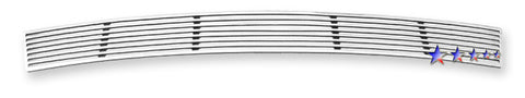 APS N95416A Perimeter Grille for Nissan Altima (Polished) - Lower Bumper