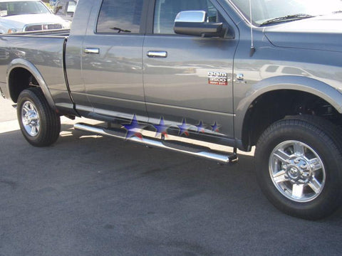 APS NB-D6209S Nerf Bars 6 Inch Oval for Dodge Ram (Polished)