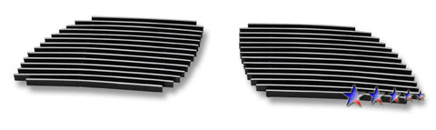 APS P85806A Aluminum Billet Grille for Pontiac GTO (Polished) - Main Upper