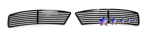 APS P95131H Black Perimeter Grille for Pontiac G6 (Black Powder Coated) - Lower Bumper
